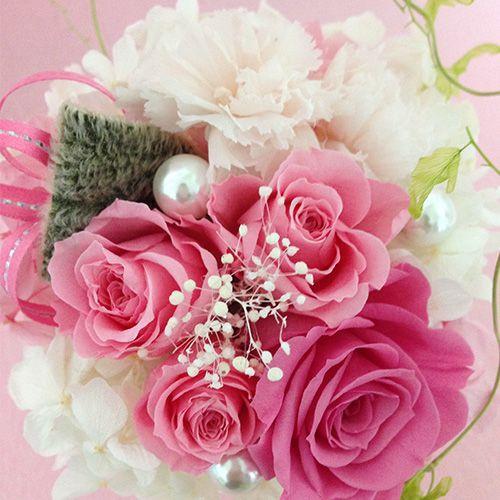 プリザーブドフラワーエンジェル 誕生日 結婚祝い 花 ギフト プレゼント お祝 送料無料|littleangel|02