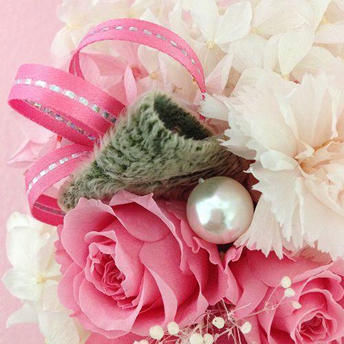 プリザーブドフラワーエンジェル 誕生日 結婚祝い 花 ギフト プレゼント お祝 送料無料|littleangel|03