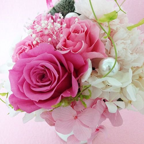 プリザーブドフラワーエンジェル 誕生日 結婚祝い 花 ギフト プレゼント お祝 送料無料|littleangel|04