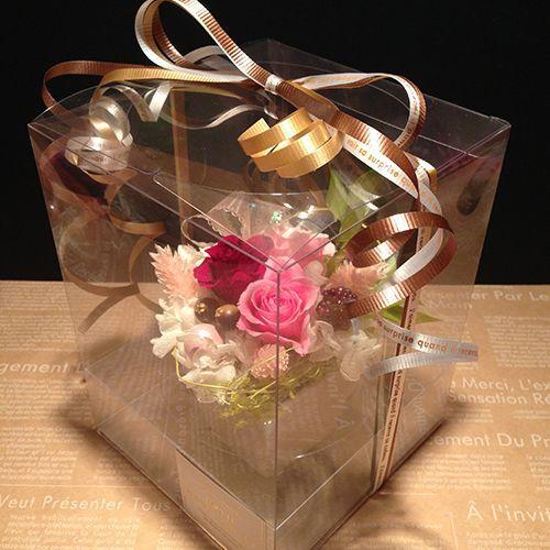 プリザーブドフラワーギフト プリザーブドフラワー プリザ プリザーブド  誕生日 結婚祝い 花  プレゼント  ストロベリー littleangel 05