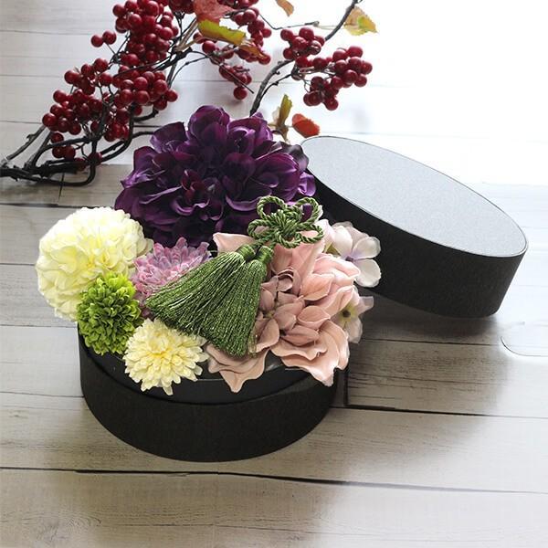 和スタイル紫のダリアの髪飾り 正月 成人式 和装 浴衣|littleangel|05