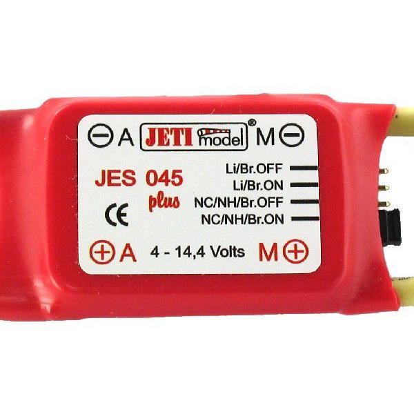 JETI JES045 plus ブラシモーター用スピードコントローラー