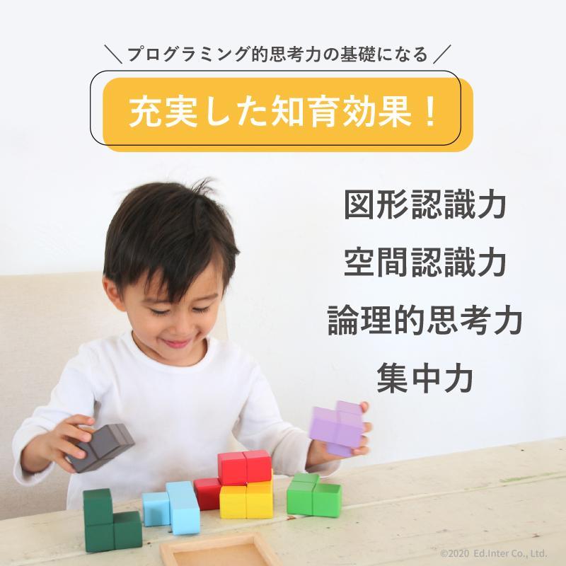 『賢人パズル』出産祝い 木のおもちゃ はじめてのおもちゃ 知育玩具 誕生日プレゼント 男の子 女の子 長く遊べる[A3112549] littlegenius 08