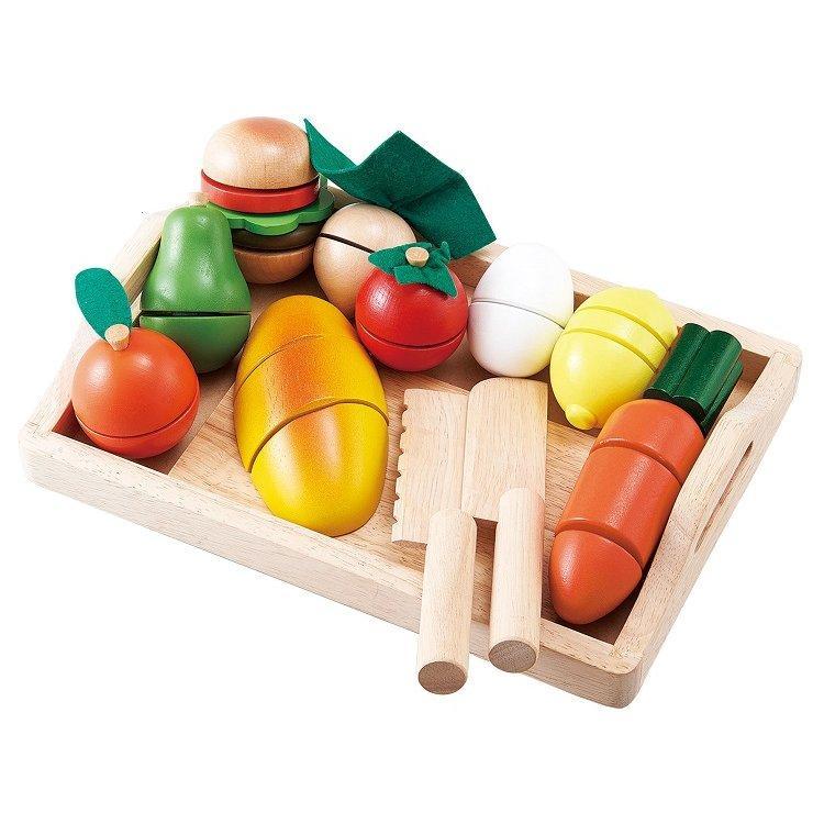 『ままごといっぱいセット』出産祝い 木のおもちゃ はじめてのおもちゃ 知育玩具 誕生日プレゼント 男の子 女の子 長く遊べる[A3112487]|littlegenius