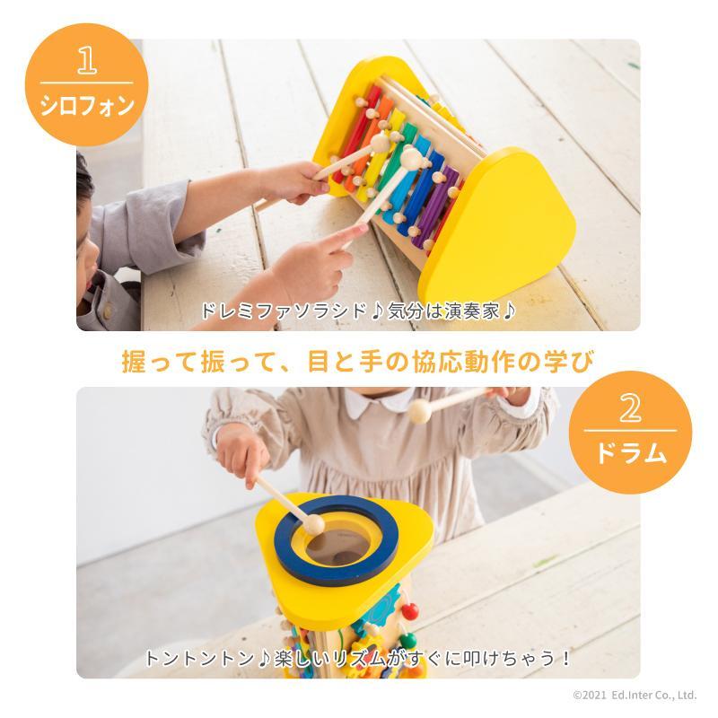 『森の音楽会』出産祝い 木のおもちゃ はじめてのおもちゃ 知育玩具 誕生日プレゼント 男の子 女の子 長く遊べる 木製玩具[A3112477]|littlegenius|06