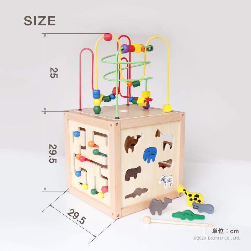 『森のあそび箱』出産祝い 木のおもちゃ はじめてのおもちゃ 知育玩具 誕生日プレゼント 男の子 女の子 長く遊べる 木製玩具[A3112513]|littlegenius|12