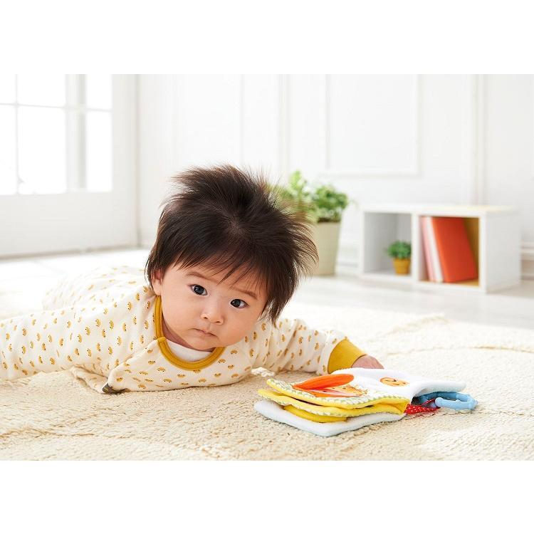 『もぐもぐばあ〜いろんなお顔がかくれんぼ〜』出産祝い 布のおもちゃ はじめてのおもちゃ 知育玩具 誕生日プレゼント 男の子[a31310160] littlegenius 07