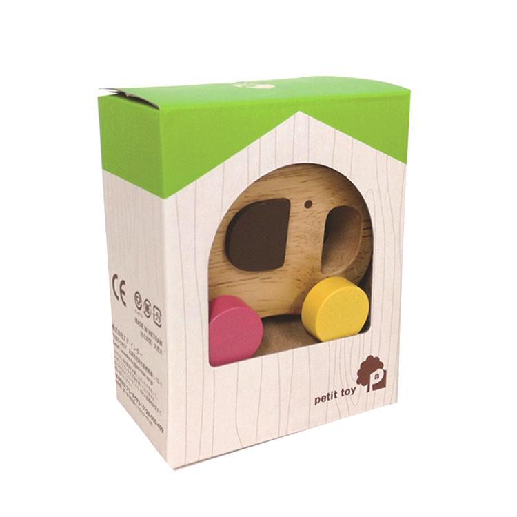 『Elephant Car』出産祝い 木のおもちゃ はじめてのおもちゃ 知育玩具 誕生日プレゼント 男の子 女の子 長く遊べる[a31310162]|littlegenius|03
