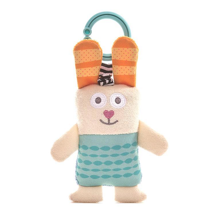 『うさぎのぶるぶるラトル』出産祝い 布のおもちゃ はじめてのおもちゃ 知育玩具 誕生日プレゼント 男の子 女の子[a31310178] littlegenius 02