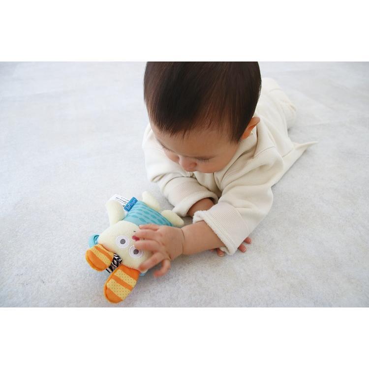 『うさぎのぶるぶるラトル』出産祝い 布のおもちゃ はじめてのおもちゃ 知育玩具 誕生日プレゼント 男の子 女の子[a31310178] littlegenius 03