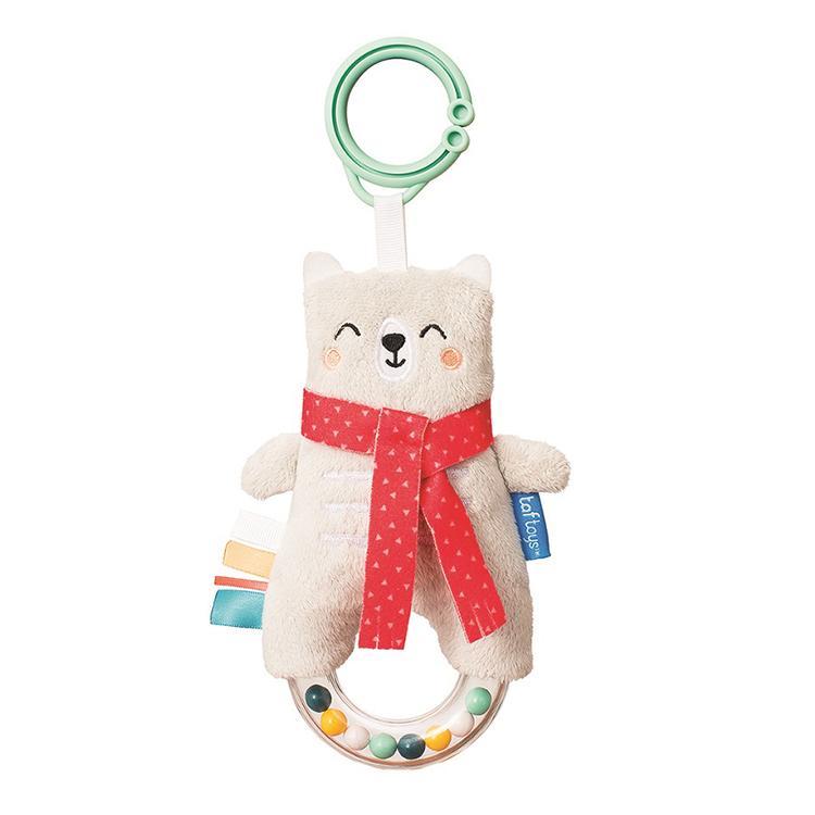 『しろくまのラトル』出産祝い 布のおもちゃ はじめてのおもちゃ 知育玩具 誕生日プレゼント 男の子 女の子 長く遊べる[a3131019] littlegenius 02