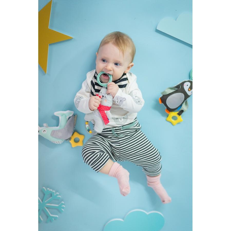 『しろくまのラトル』出産祝い 布のおもちゃ はじめてのおもちゃ 知育玩具 誕生日プレゼント 男の子 女の子 長く遊べる[a3131019] littlegenius 03