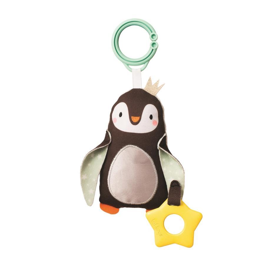 『ペンギンのラトル』出産祝い 布のおもちゃ はじめてのおもちゃ 知育玩具 誕生日プレゼント 男の子 女の子 長く遊べる[a31310190]|littlegenius|02