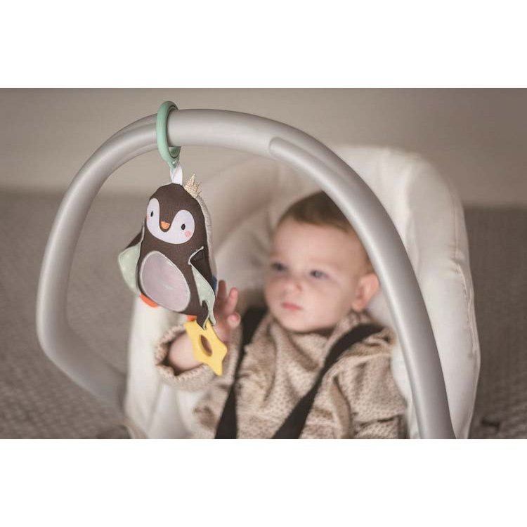 『ペンギンのラトル』出産祝い 布のおもちゃ はじめてのおもちゃ 知育玩具 誕生日プレゼント 男の子 女の子 長く遊べる[a31310190]|littlegenius|03
