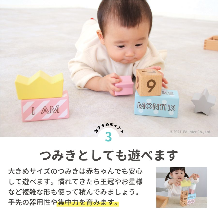 『Memory Biscuits -メモリービスケット-』出産祝い 木のおもちゃ はじめてのおもちゃ 知育玩具[a31310250]|littlegenius|07