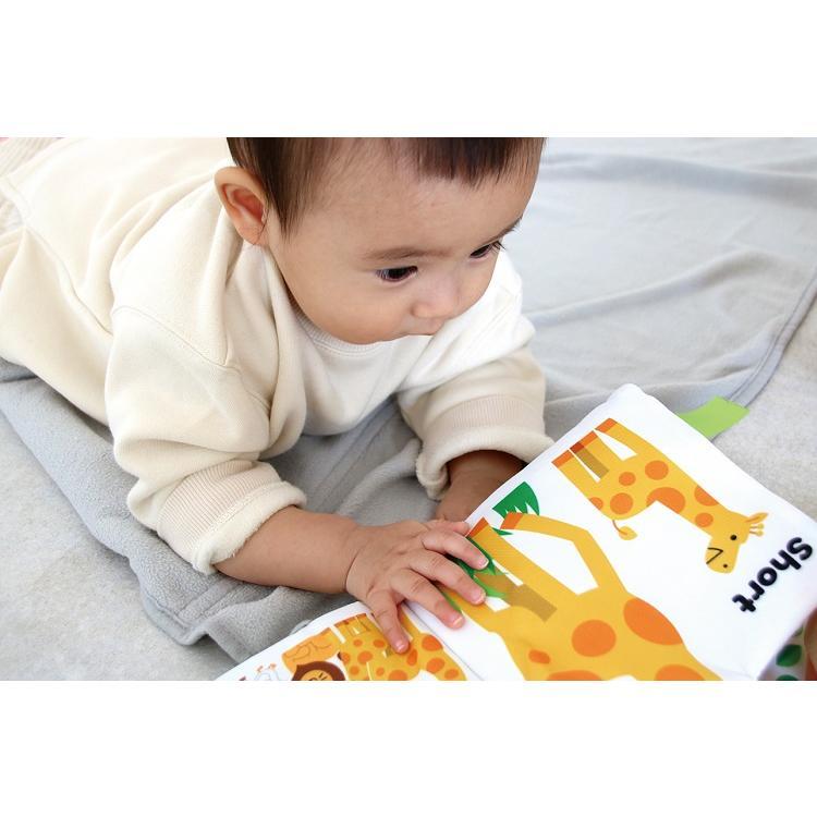 『〜ふわふわトーイ〜 HAPPY ANIMALS -ハッピーアニマル-』出産祝い 布のおもちゃ はじめてのおもちゃ 知育玩具[a31310252] littlegenius