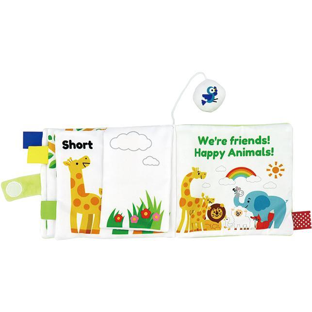 『〜ふわふわトーイ〜 HAPPY ANIMALS -ハッピーアニマル-』出産祝い 布のおもちゃ はじめてのおもちゃ 知育玩具[a31310252] littlegenius 05