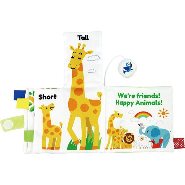 『〜ふわふわトーイ〜 HAPPY ANIMALS -ハッピーアニマル-』出産祝い 布のおもちゃ はじめてのおもちゃ 知育玩具[a31310252] littlegenius 06