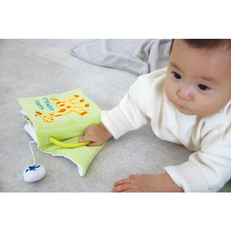 『〜ふわふわトーイ〜 HAPPY ANIMALS -ハッピーアニマル-』出産祝い 布のおもちゃ はじめてのおもちゃ 知育玩具[a31310252] littlegenius 07
