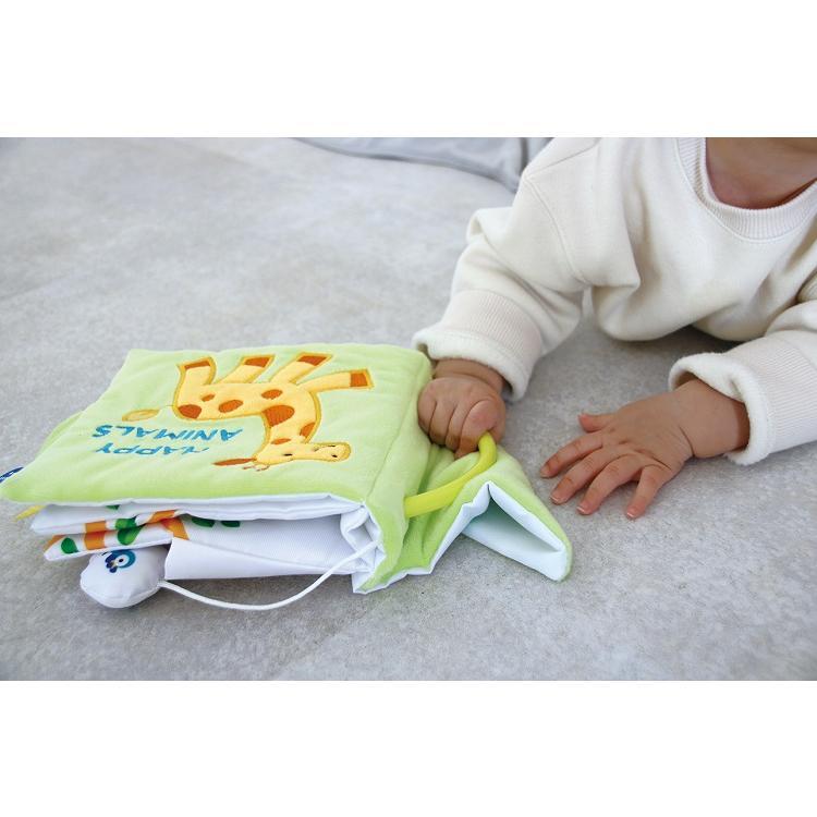 『〜ふわふわトーイ〜 HAPPY ANIMALS -ハッピーアニマル-』出産祝い 布のおもちゃ はじめてのおもちゃ 知育玩具[a31310252] littlegenius 08