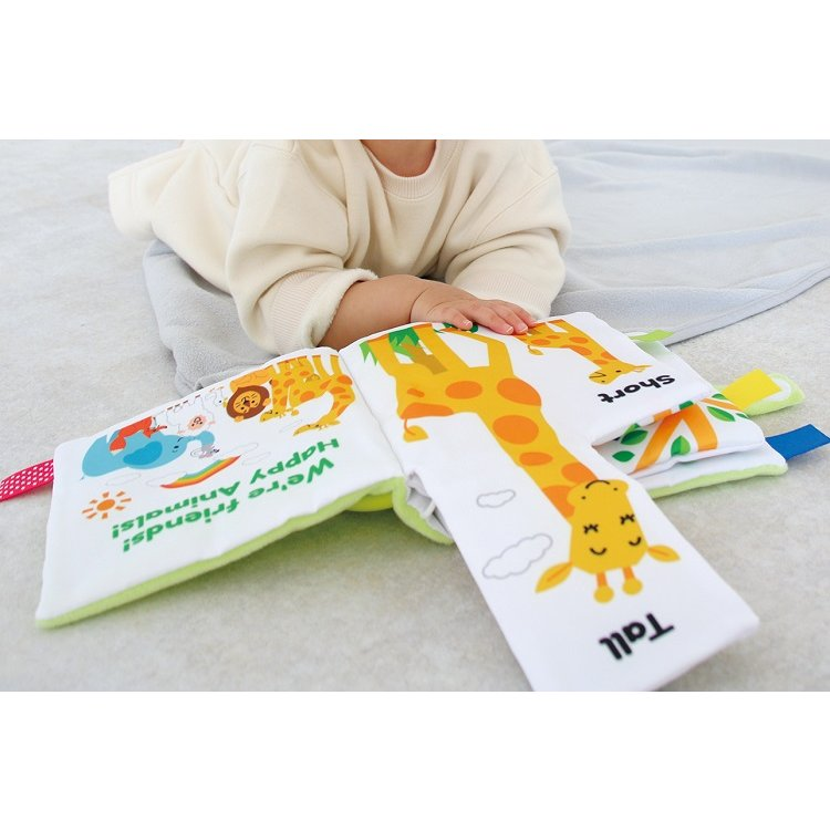 『〜ふわふわトーイ〜 HAPPY ANIMALS -ハッピーアニマル-』出産祝い 布のおもちゃ はじめてのおもちゃ 知育玩具[a31310252] littlegenius 09