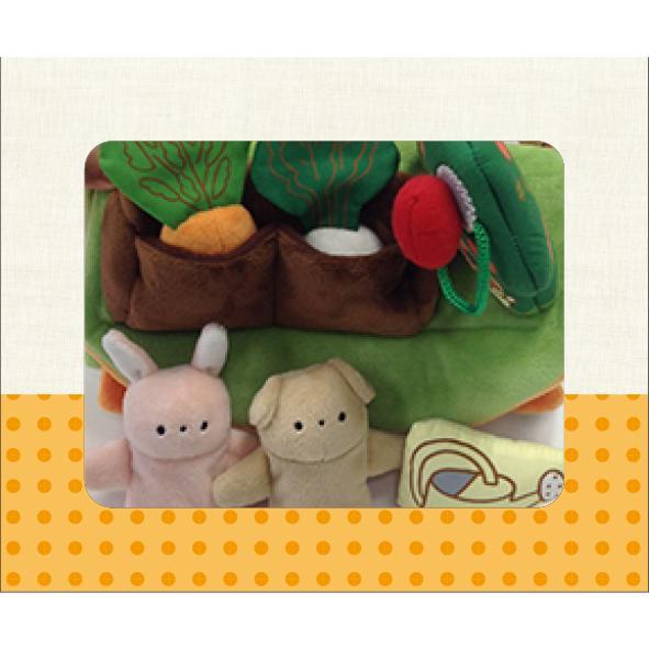 『ふわふわガーデンハウス』出産祝い 布のおもちゃ はじめてのおもちゃ 知育玩具 誕生日プレゼント 男の子 女の子 長く遊べる[a31310255]|littlegenius|03