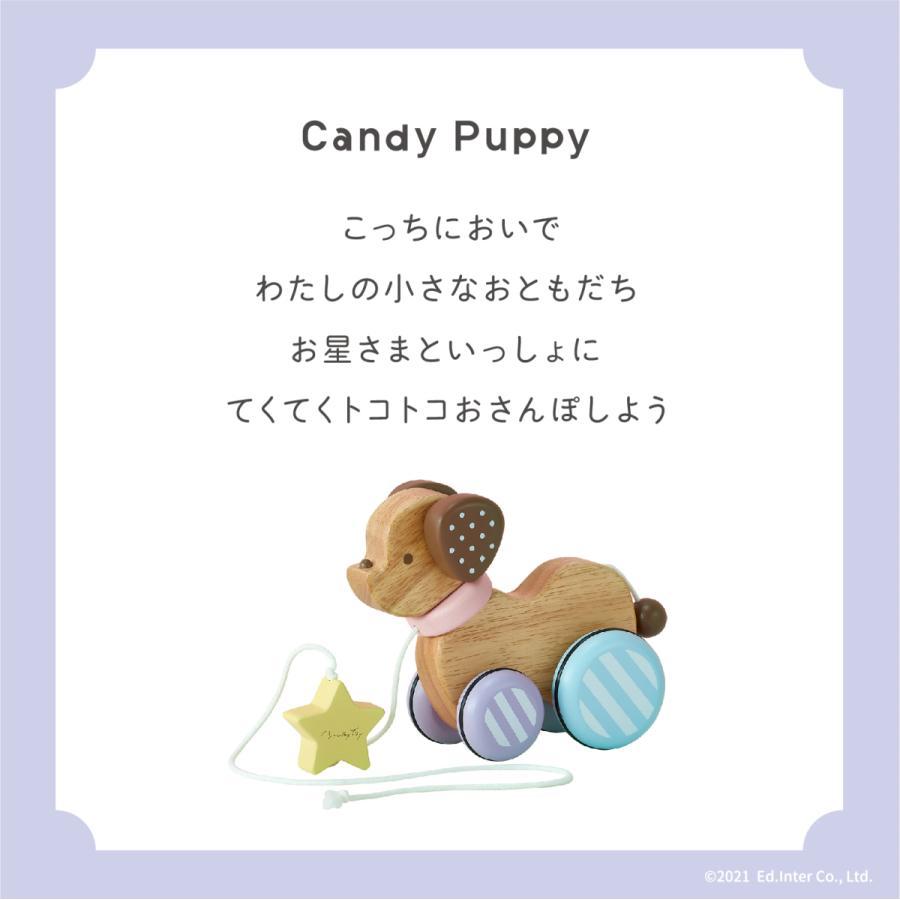 『Candy Puppy -キャンディパピー-』出産祝い 木のおもちゃ はじめてのおもちゃ 知育玩具 誕生日プレゼント[a31310267]|littlegenius|02