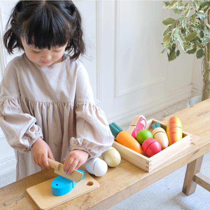 『First Little Chef』出産祝い 木のおもちゃ はじめてのおもちゃ 知育玩具 誕生日プレゼント 男の子 女の子 長く遊べる 木製玩具[a31310291]|littlegenius|02
