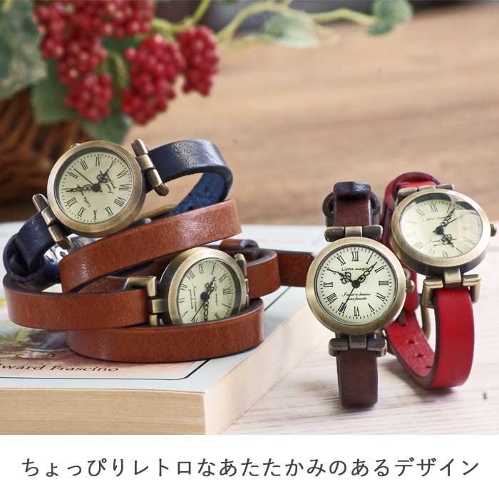 腕時計 レディース 可愛い リトルマジック 時計 おしゃれ 小さめ 1重巻き アンティーク 腕時計 本革 防水 人気 ブランド ブレスレット 腕時計 レディース 時計|littlemagic|02