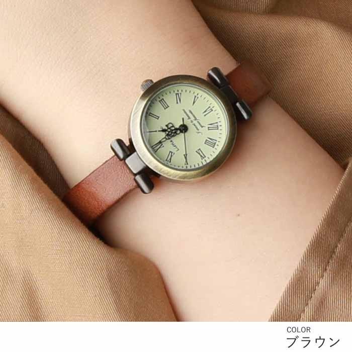 腕時計 レディース 可愛い リトルマジック 時計 おしゃれ 小さめ 1重巻き アンティーク 腕時計 本革 防水 人気 ブランド ブレスレット 腕時計 レディース 時計|littlemagic|11