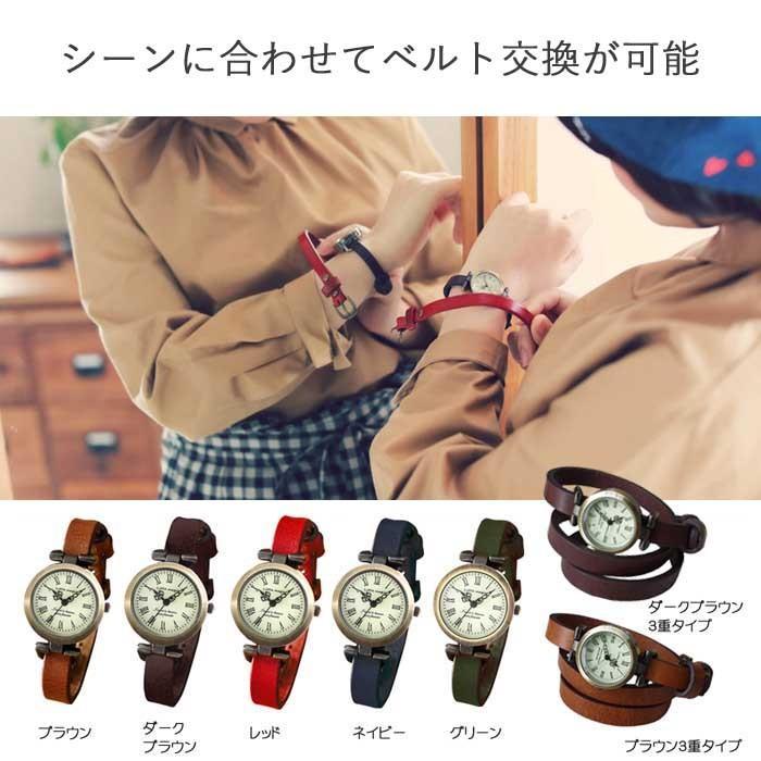 腕時計 レディース 可愛い リトルマジック 時計 おしゃれ 小さめ 1重巻き アンティーク 腕時計 本革 防水 人気 ブランド ブレスレット 腕時計 レディース 時計|littlemagic|04