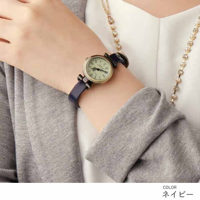 腕時計 レディース 可愛い リトルマジック 時計 おしゃれ 小さめ 1重巻き アンティーク 腕時計 本革 防水 人気 ブランド ブレスレット 腕時計 レディース 時計|littlemagic|08