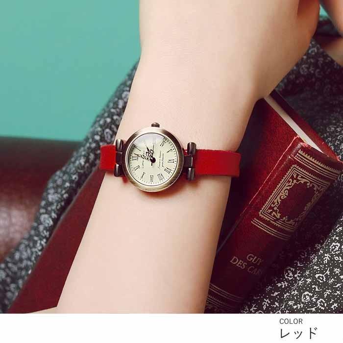腕時計 レディース 可愛い リトルマジック 時計 おしゃれ 小さめ 1重巻き アンティーク 腕時計 本革 防水 人気 ブランド ブレスレット 腕時計 レディース 時計|littlemagic|09