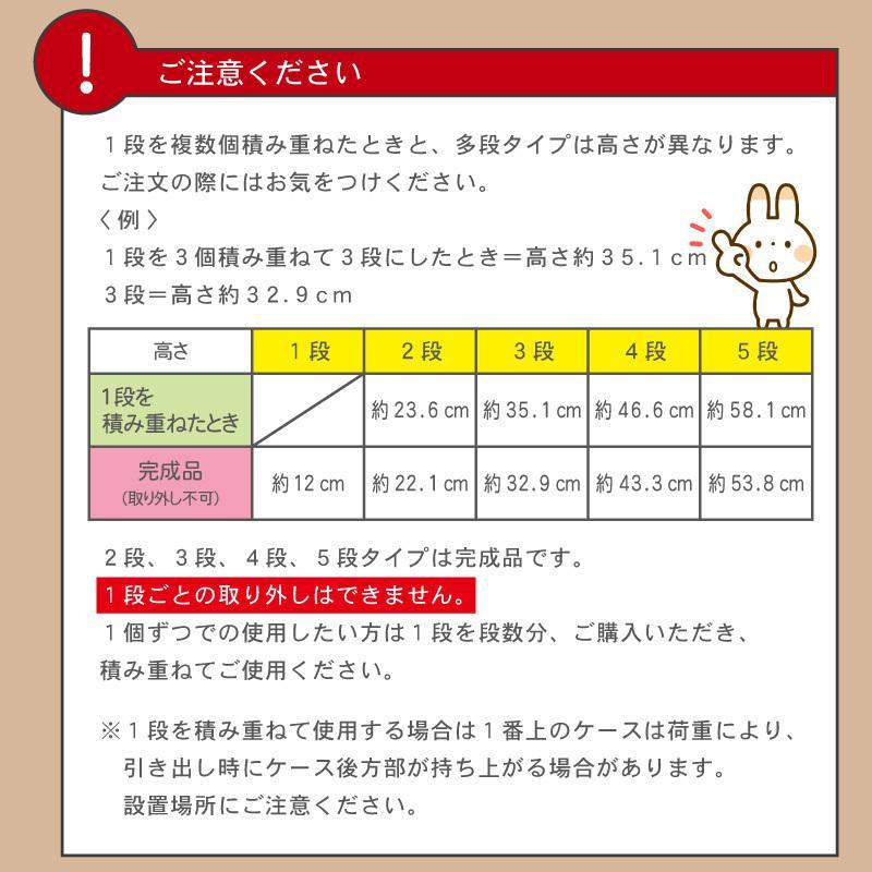 レターケース おしゃれ 引き出し プラスチック 収納ケース 2段 A4サイズ プラストベーシックFRA402|livewell|06