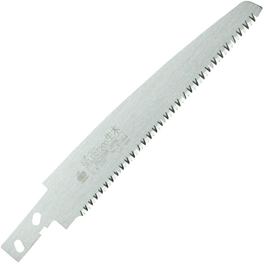 数量限定 玉鳥 レザーソー 即納最大半額 生木用鋸 爆買いセール 替刃200mm SELECT200