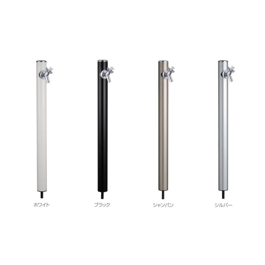 新作入荷 MELS 前澤化成 卓抜 丸型アルミ水栓柱 HI-16MALx960
