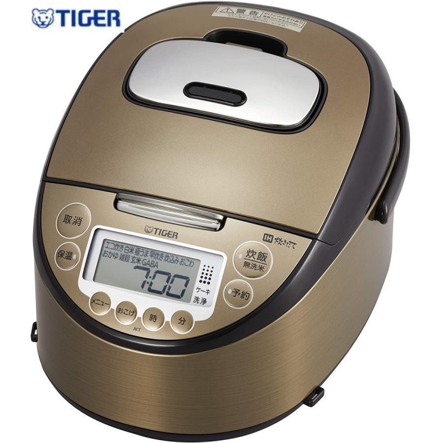 IH炊飯器 世界の人気ブランド 炊飯器 5.5合 買物 IH 炊き分けメニュー10種搭載 炊きたて JKT-P100-TK ダークブラウン タイガー魔法瓶
