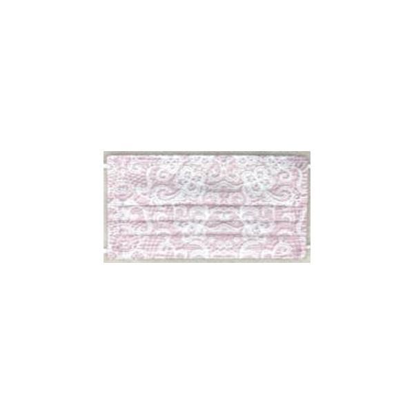 【2個セット】マスクセレブYU・RI・KO(プリーツ型不織布マスク)5枚入 ミディアムサイズ コーラルピンク ×2点「衛生商品のためキャンセル不可」|livingshop-akiyama|03
