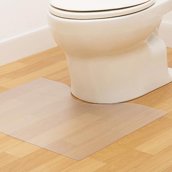 ◆高品質 トイレマット 拭けるトイレマット レギュラー ふける 汚れない トイレ トイレタリー マット 祝開店大放出セール開催中 汚れにくい 透明