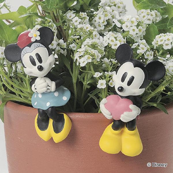 ハンギングオーナメント ミッキー ミニー 商店 出荷 ミッキーマウス ミニーマウス セトクラフト ガーデンピック ガーデンマスコット ディズニー エクステリア