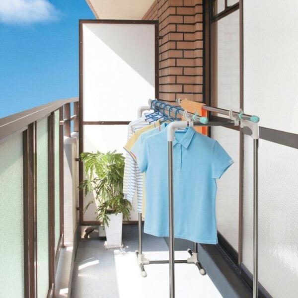 ベランダ物干し台 卸売り スリムタイプ ステンレス製 物干し台 ステンレス ベランダ 洗濯物干 無料サンプルOK