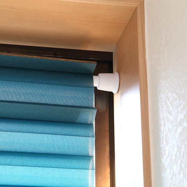 断熱スクリーン 小窓用断熱スクリーン 幅59×丈90cm 突っ張り棒付き ハニカムシェード ( 小窓 カーテン シェード ) livingut 08
