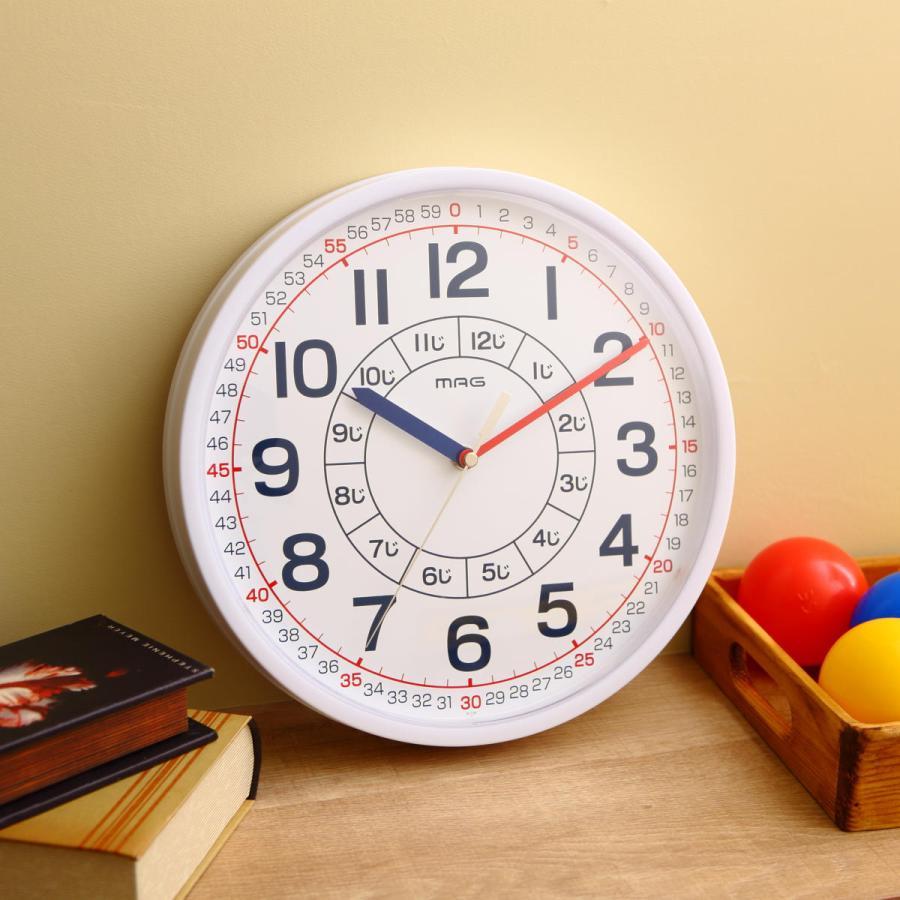 知育時計 よ〜める 子ども 知育 国際ブランド 壁掛け 時計 掛け時計 ウォールクロック 学習 子供 保障 アナログ
