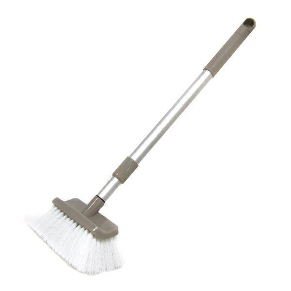 床ブラシ 伸縮 ベランダ 玄関 コンパクト 掃除 毎日がバーゲンセール ブラシ デッキブラシ 商店 床
