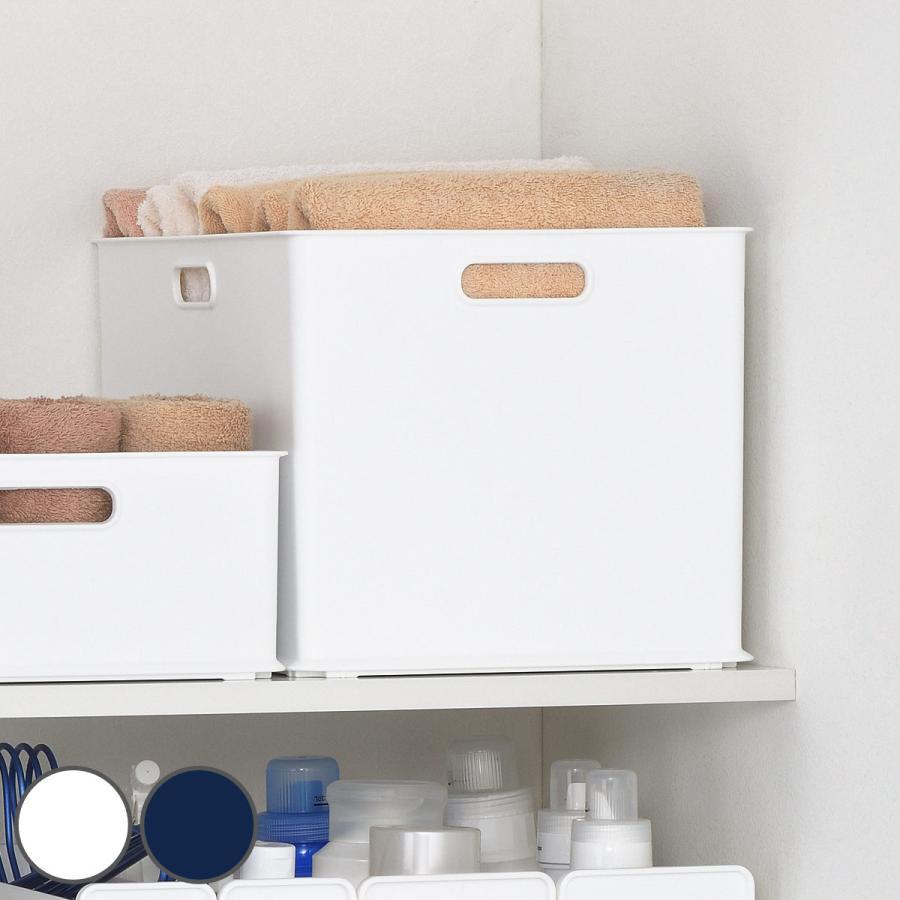 収納ケース 価格 L 約 幅40×奥行27×高さ24cm 白 ホワイト S 日本最大級の品揃え W カラーボックス サンバッサ インナーボックス ケース 収納ボックス 日本製 プラスチック