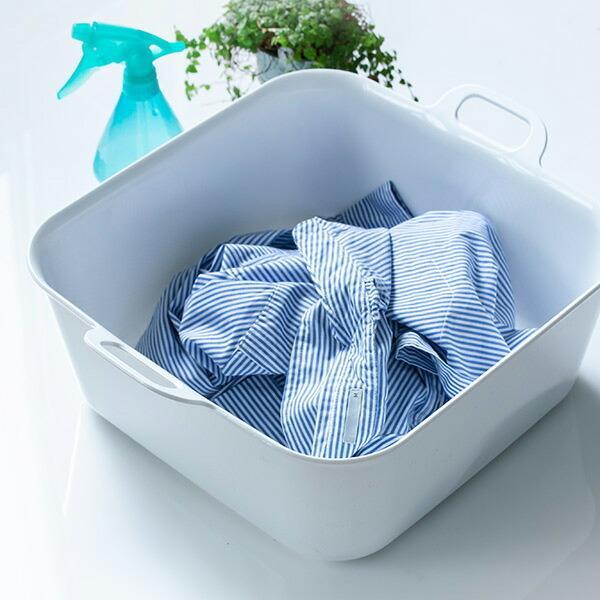 洗濯用たらい 価格交渉OK送料無料 15L 直輸入品激安 Arao 洗い桶 タライ バケツ たらい 四角 バスケット