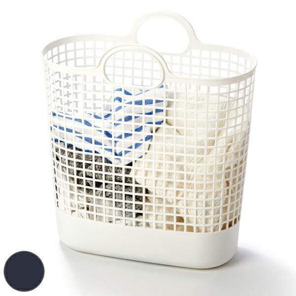 ランドリーバスケット タウンバスケットビッグ 供え 推奨 LBB-17C バイオプラスチック配合 ライクイット ランドリーバッグ バスケット 洗濯かご