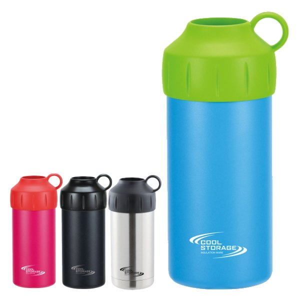 ペットボトルクーラー 保冷 クールストレージ 500 完売 600ml兼用 保冷カバー 500ml 600ml ボトルカバー ボトルホルダー ステンレス 40%OFFの激安セール
