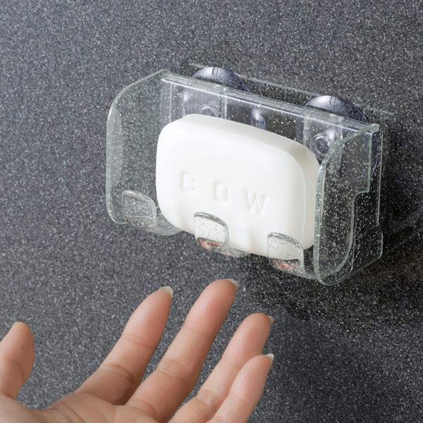 ソープディッシュ 指ですくえるソープディッシュ NEW 石鹸置き 吸盤 ソープトレー 商品追加値下げ在庫復活 水切りトレー 石鹸 トレー 石けん置き