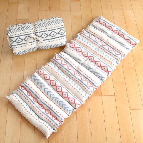 クッション ロングクッション 完売 インド綿 PEET ピート マットレス フロアクッション ごろ寝 長方形 ざぶとん 全品送料無料 座布団